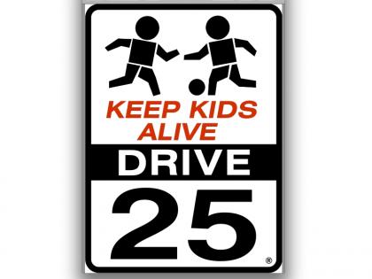 Keep Kids Alive – Drive 25 Campaign