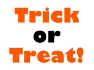 Trick or Treat Hours 2016
