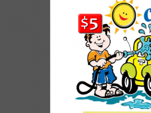 Sat. April 19th Car Wash and Hoagie Sale