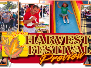 Annual Harvest Festival Saturday Oct. 11
