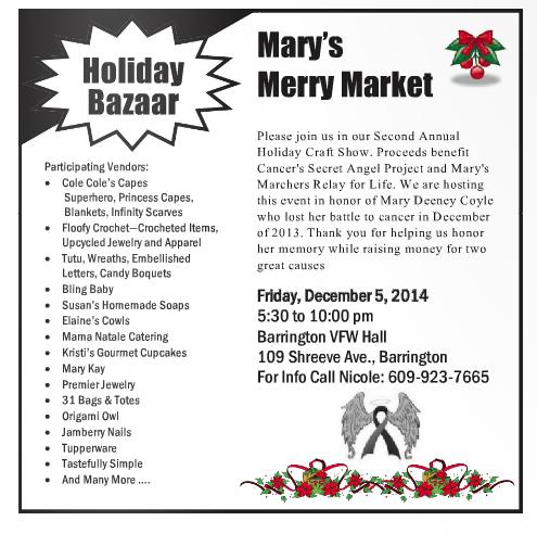 Holiday Bazaar 2014