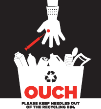 Important reminder: Do NOT recycle syringes/needles