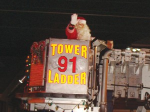 Fire Truck Parade and Tree Lighting on Friday Nov. 27