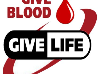 Blood Drive Thurs. Dec. 1 – 2 pm – 7 pm