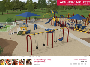 New Wish Upon a Star Park Playground – coming soon
