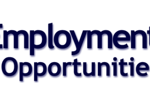 Employment Opportunity: Assistant Mechanic (Dept. of Public Works)